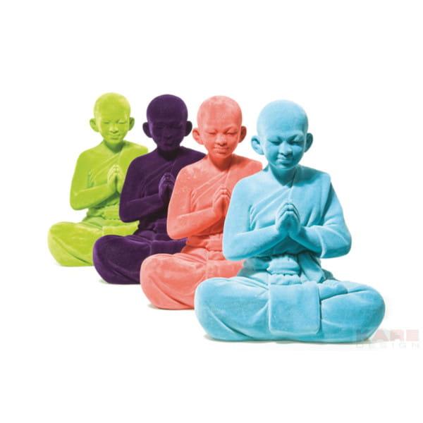 Deko Figur Monk Velvet Sortiert