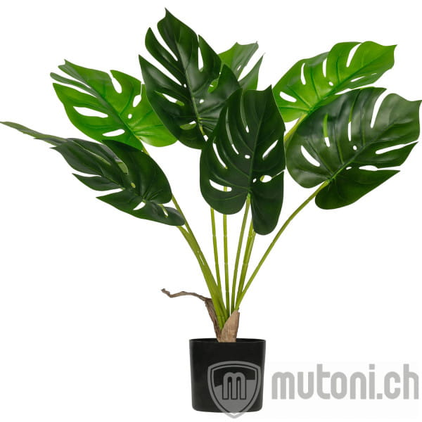 Künstliche Pflanze Monstera Grün 70cm