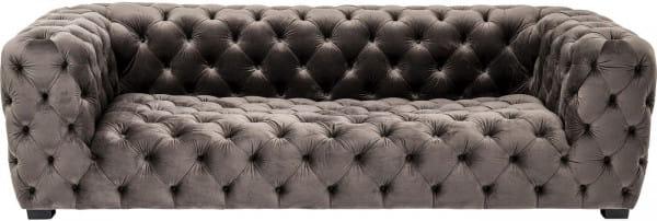 Sofa 4-Sitzer Metropol Grau 238cm