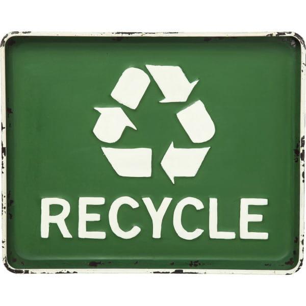 Wandschmuck Recycle