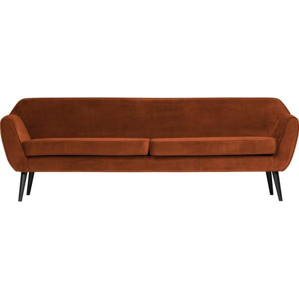 Sofa Rocco XL Samt rost 230