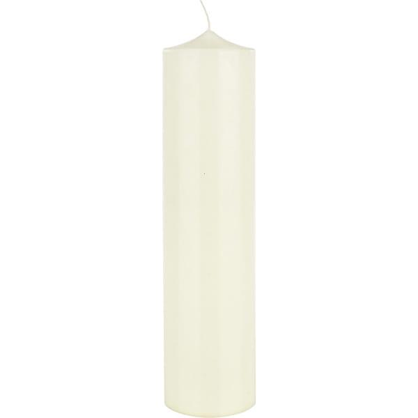 Kerze Design Elfenbein 10x40