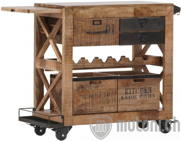 Servierwagen Loft Wood