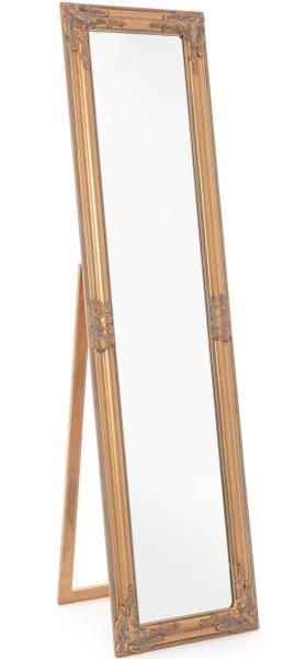 Spiegel Miro gold matt 40x160