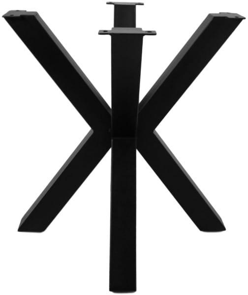 Tischgestell 3D-Modell Metall schwarz 70