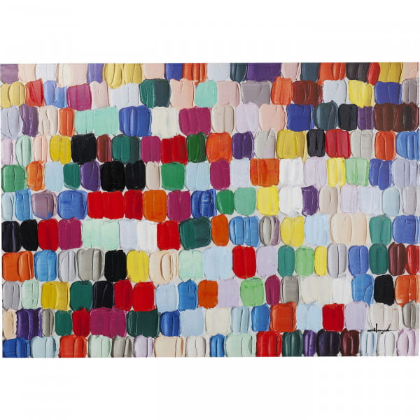 Bild Touched Colorful Dots 140x200cm