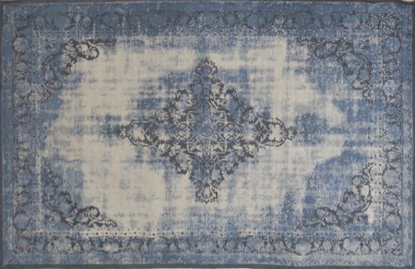 Vintage-Teppich Antiquity hellblau 170x240