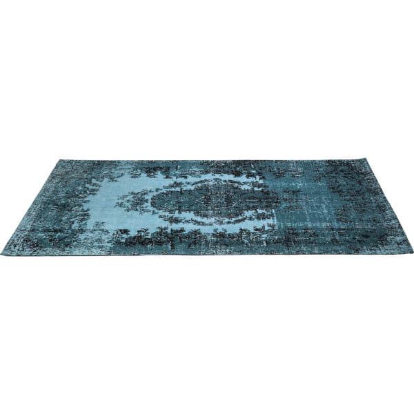 Teppich Kelim Pop Turquoise 240x170cm