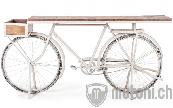 Konsole Bicycle weiss