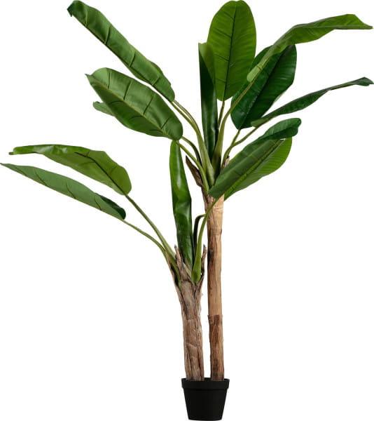 Deko Pflanze Bananenstaude 138cm