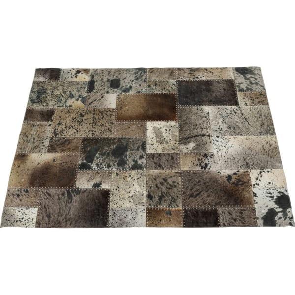 Teppich Squares Grau 170x240cm