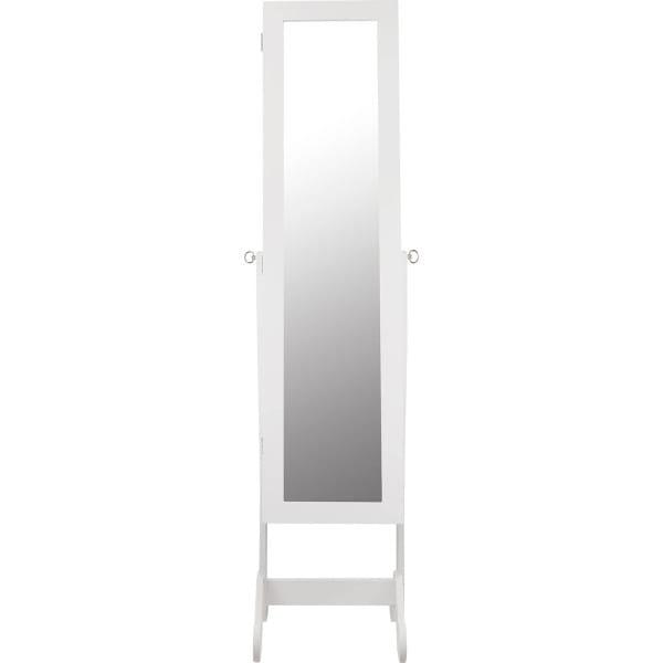 Schmuckschrank Spiegelfront LED 2 Schubladen