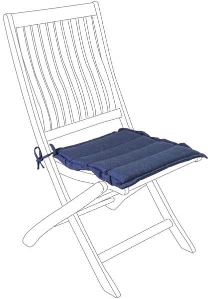 Gestepptes Kissen Jeans Sitzkissen