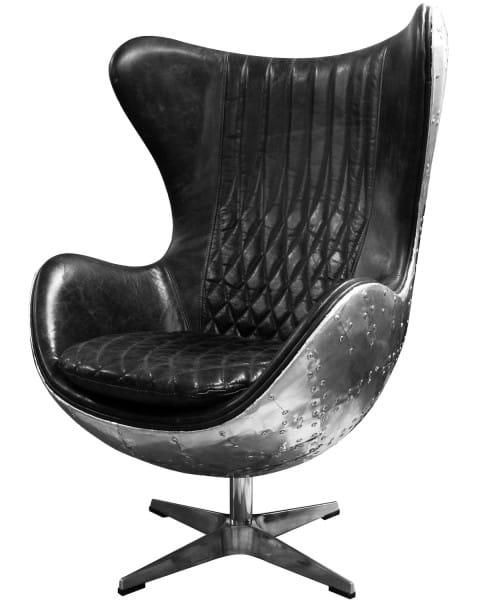 Design Sessel Stuhl Edge Aero Alu Big