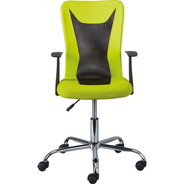 Büro-Drehstuhl Ronny grün schwarz