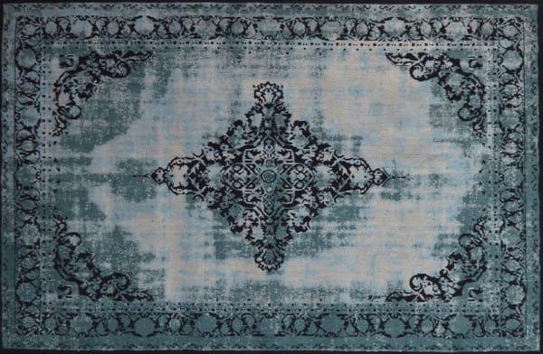 Vintage-Teppich Antiquity türkis 170x240