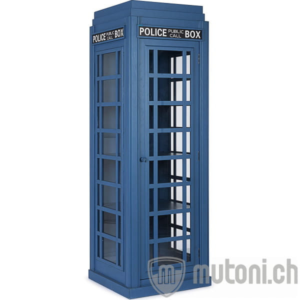 Bücherregal Police Box 60x60x180