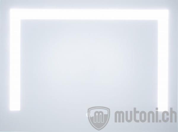 Wandspiegel mit Beleuchtung und Touchsensor